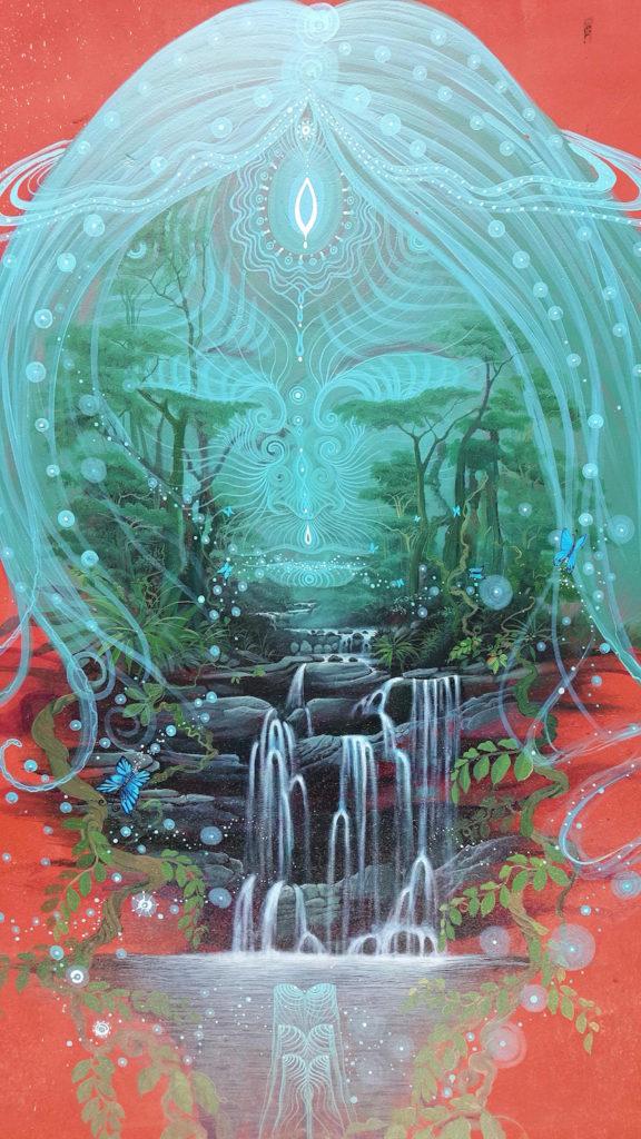 The Waterfall by Juan Carlos Taminchi