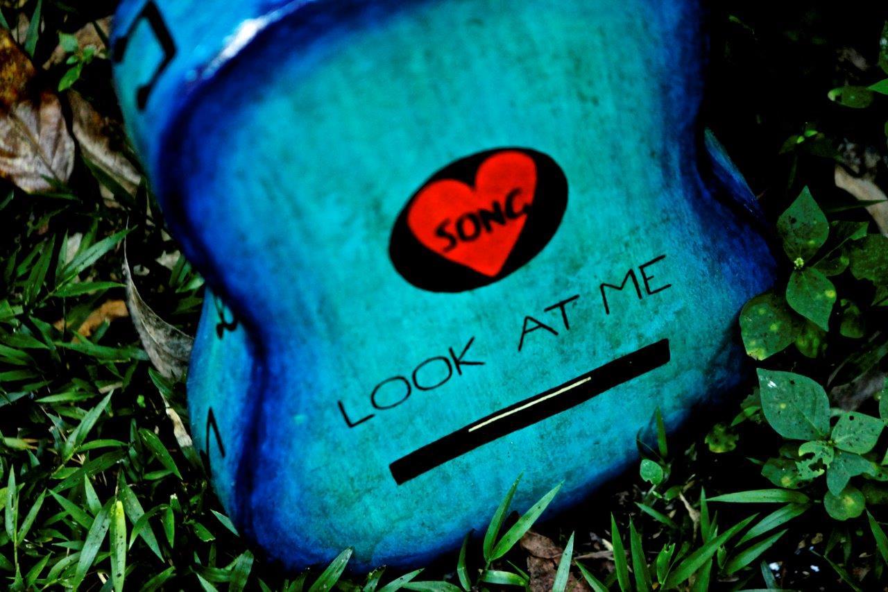 Lars' guitar