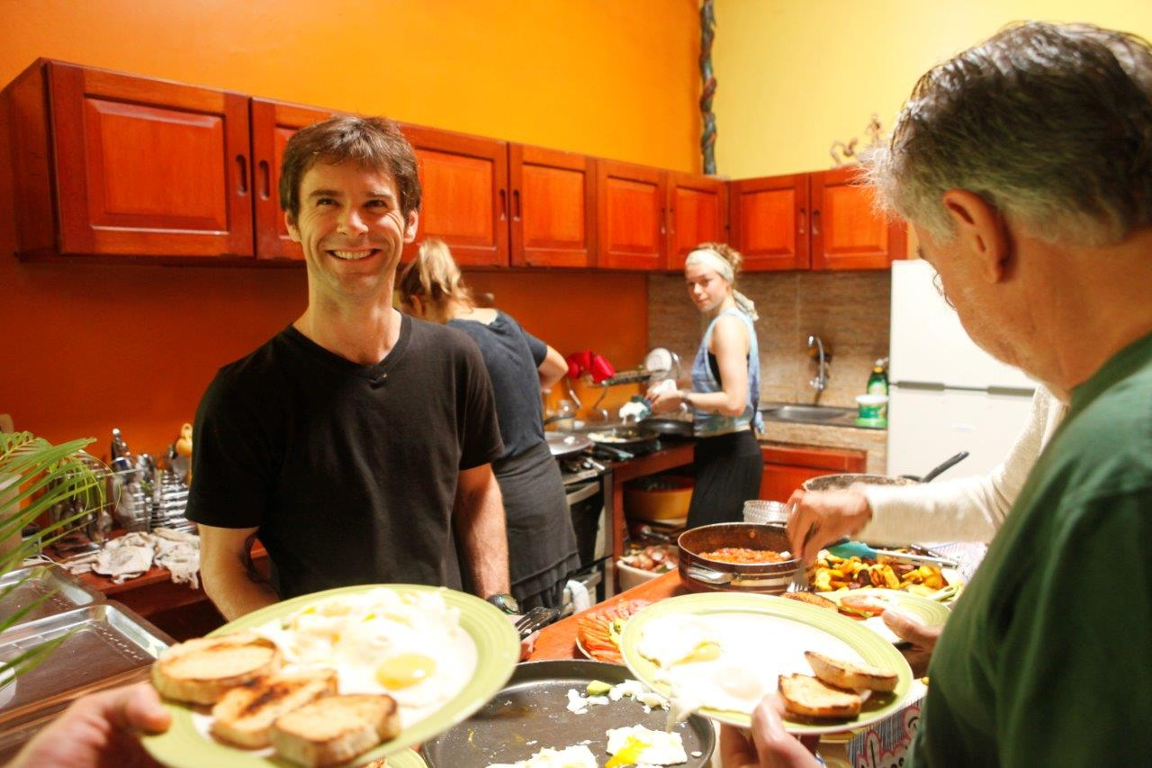 Delicious Ayahuasca diet breakfast made with love