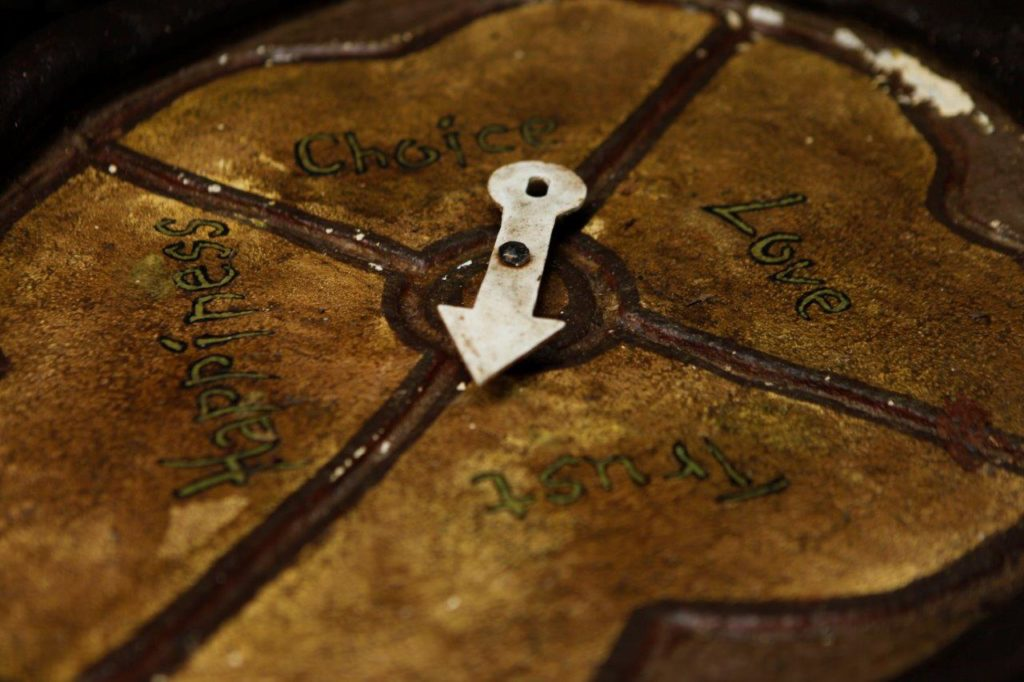 Dorin's Compass from up close
