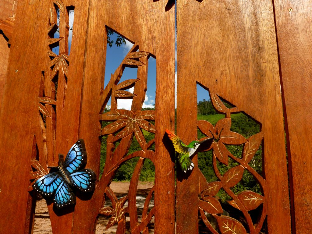 The gate of TierraMitica