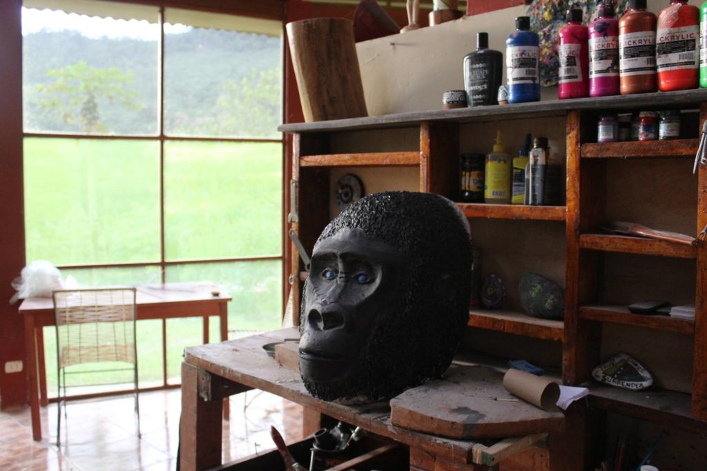 The Gorilla in process by Nathan